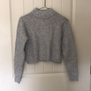 Brand new grey sweater from garage